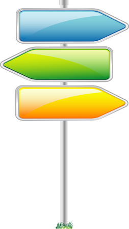 Direction sign Stock Vector - 5705617