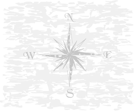 Vector illustration of compass for your design Vector