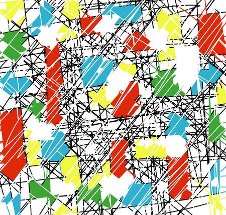 oscillation: grunge background