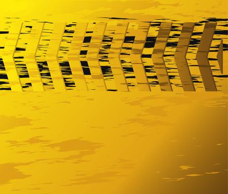 oscillation: yellow background