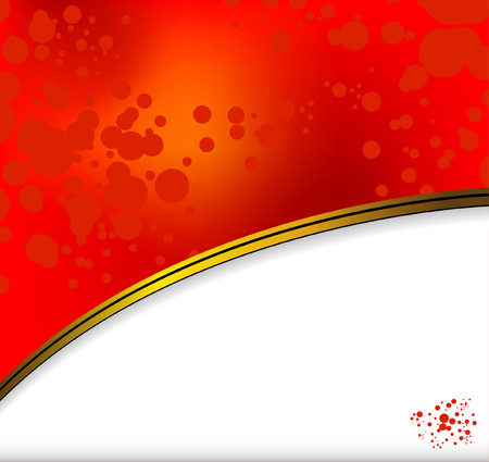red background with shadow Stock Vector - 5954534