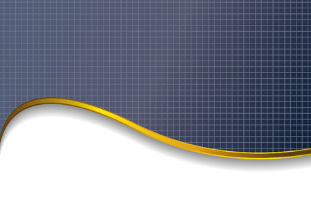 background with gold wave Vector