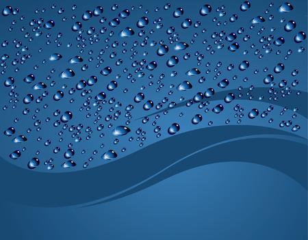 pure element: bubbles background Illustration