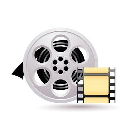 Movie icon Stock Vector - 7056327