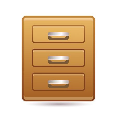 cupboard icon Stock Vector - 7056321