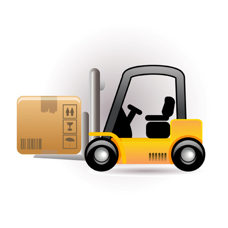 lift trucks: forklift icon