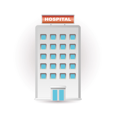 hospital sign: hospital icon