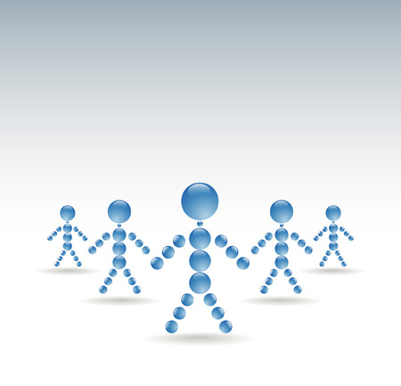 people togetherness Vector