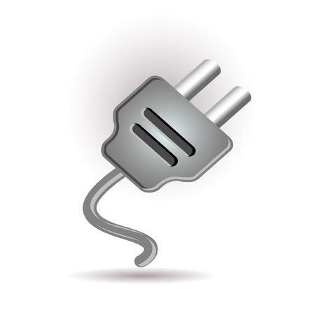 Plug in icon Stock Vector - 7289608