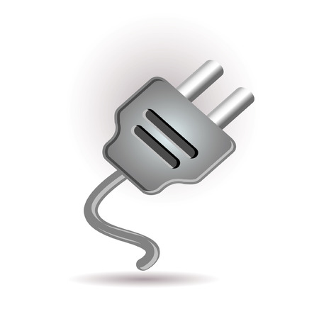 Plug in icon Stock Vector - 7289608