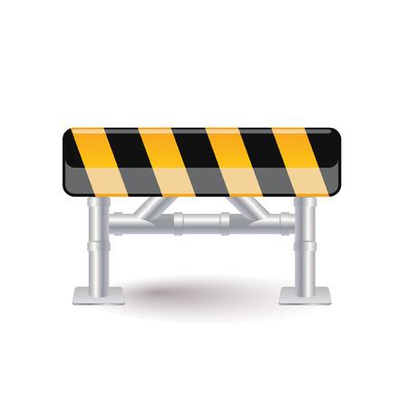 street barrier Vector