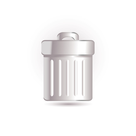 garbage icon Stock Vector - 7524835
