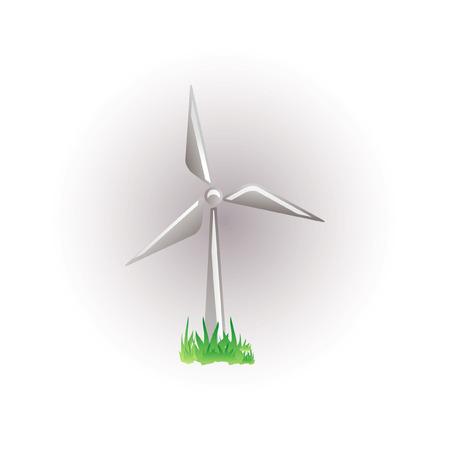 windmill icon Stock Vector - 7524846