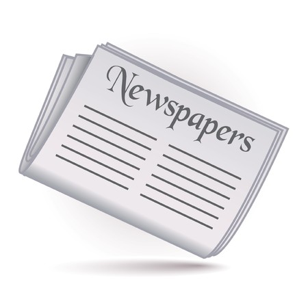 Newspapers icon Stock Vector - 7664059