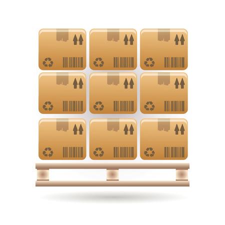 stockpile: boxes icon