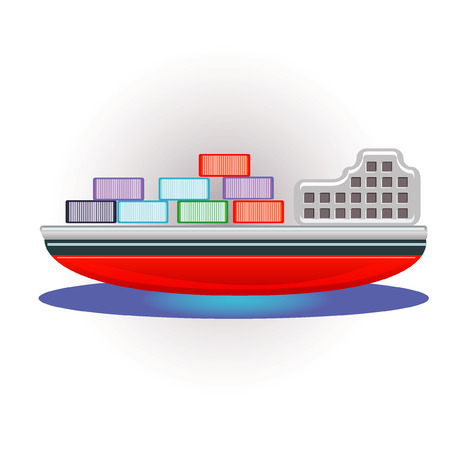 tons: container ship