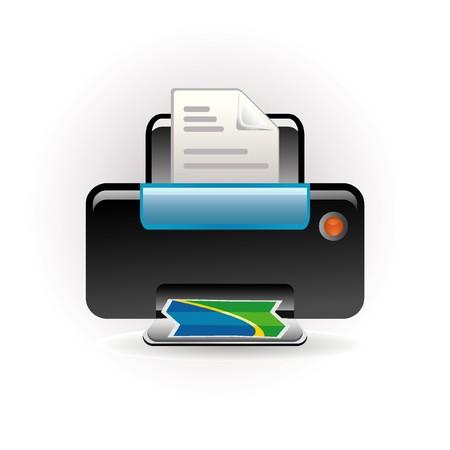 photocopy: photocopy icon Illustration