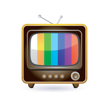 vintage television: retro television