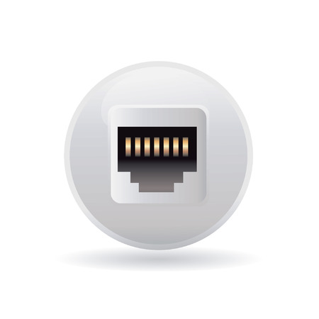 plugin: plug-in icon Illustration