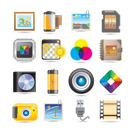 png: photography icon set