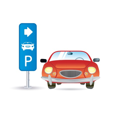 parking sign: parking icon