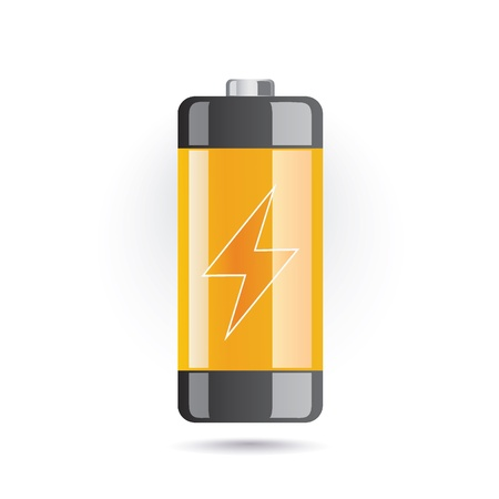charge: battery icon Illustration
