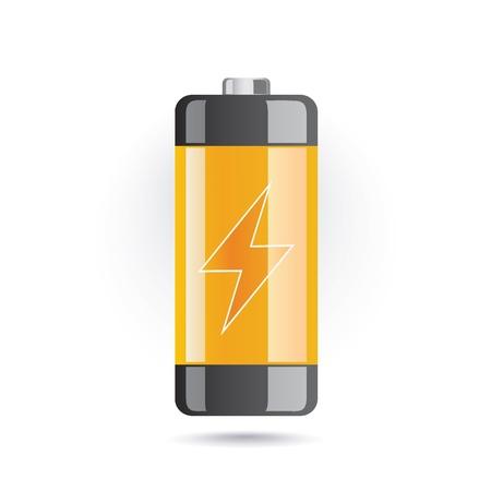 baterii: ikona baterii Ilustracja