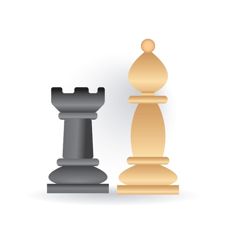 chess icon Stock Vector - 9201396