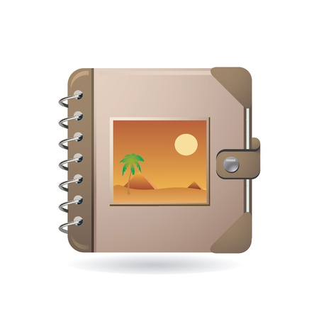 photo icons: photo album