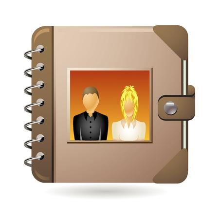 wedding album icon