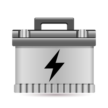 car battery Stock Vector - 10081693