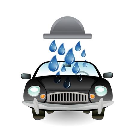 carwash: car wash icon Illustration