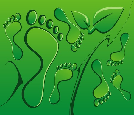 and barefoot: environment background