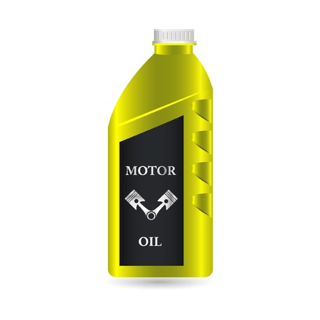 motor transport: motor oil icon Illustration