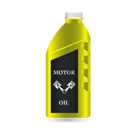 motor oil icon Stock Vector - 10881494
