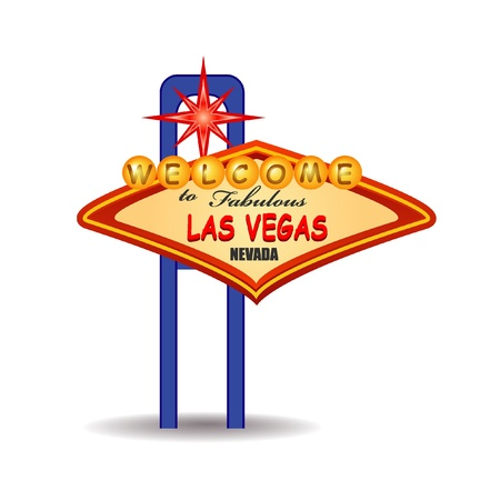 las vegas sign Stock Vector - 11094172