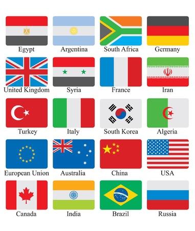 bandera argentina: indicadores establecidos