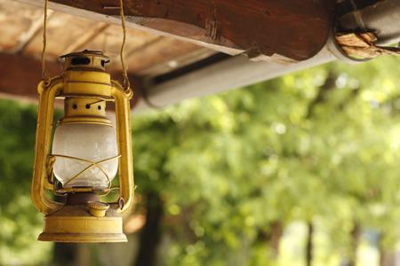 kerosene: paraffin lamp