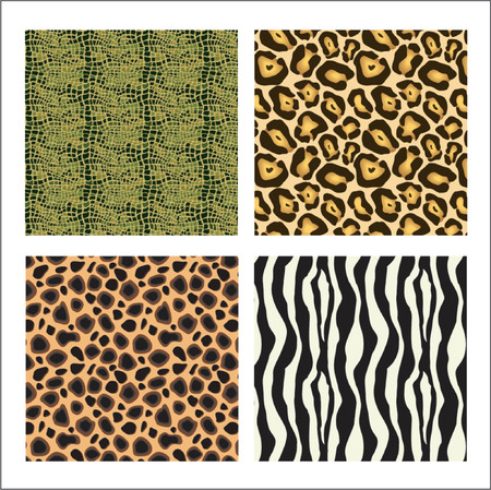 Animal prints Stock Vector - 649260