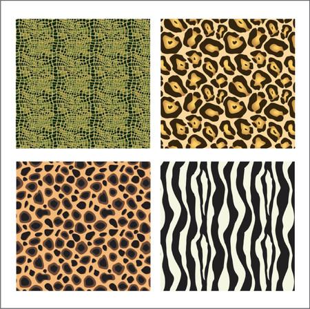 Animal prints Stock Vector - 649260
