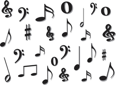 transcribe: Music notes