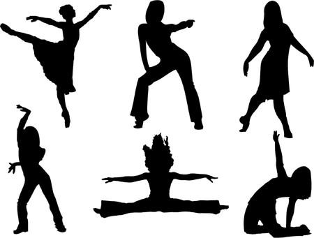 women hips: Women dancers