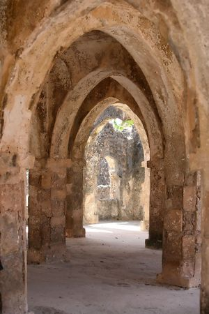 Ruins in africa photo