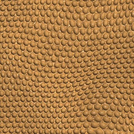 Illustrated brown scaly background Stock Photo