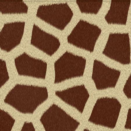 peltry: Illustrated giraffe fur background