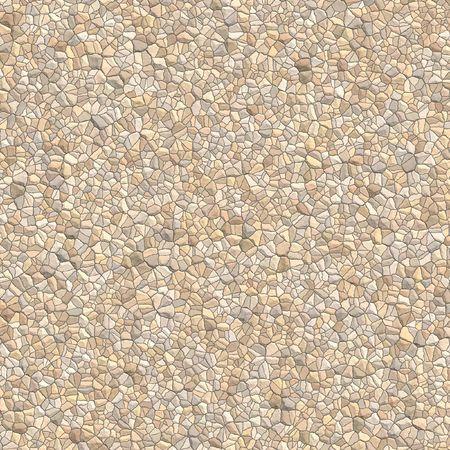 Illustration of a cobblestone wall