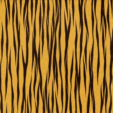 Illustrated tiger fur background