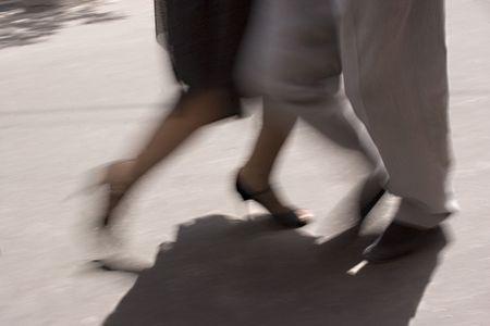 Two people doing the tango