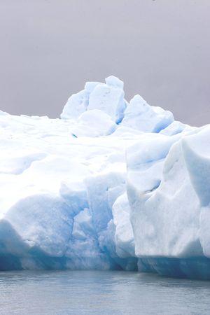 Iceberg at el calafate Stock Photo