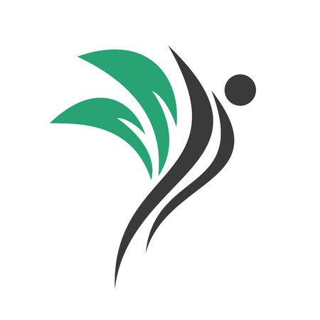 Therapeutic and Holistic health center logo design.